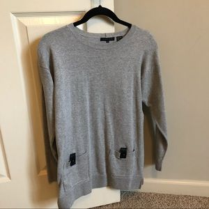 Jeanne Pierre size medium gray sweater